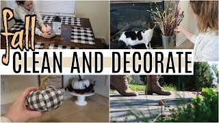 FALL CLEAN AND DECORATE WITH ME 2019 | EXTREME ALL DAY SPEED CLEANING MOTIVATION