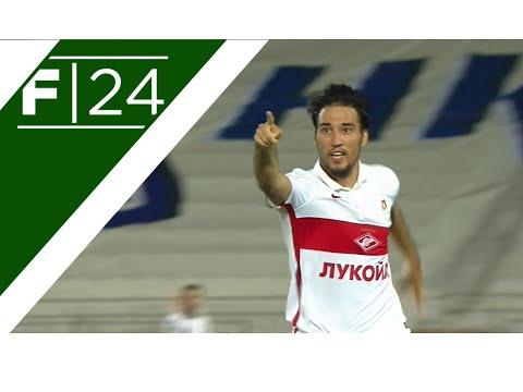 Spartak's Ivelin Popov does the Van Basten