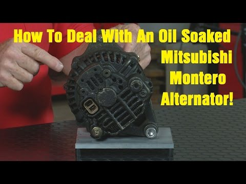 How To Deal With An Oil Soaked Mitsubishi Alternator 1 Of A 3 Part Series Mpa Wrenchin Up