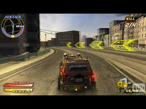 Pursuit Force Extreme Justice -PSP- 00.The Beginning [HD]