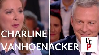 L'Emission politique : Charline Vanhoenacker face à Bruno Le Maire le 20 octobre 2016 (France 2)