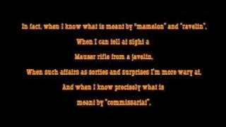 Pirates of Penzance Sing Along: Major-General's Song