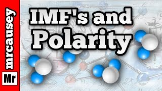 Polar Bonds, Polarity and Intermolecular Forces