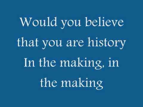 Matthew West- History lyrics