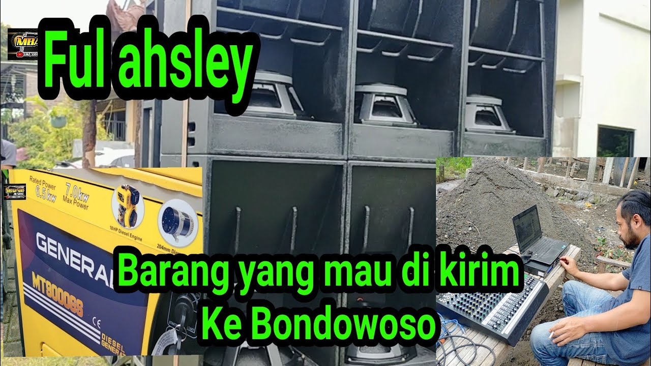 barange brewog audio yang mau di kirim ke Bondowoso di cek sound dulu ful ahsley