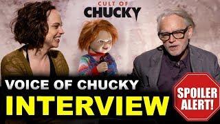 Cult of Chucky Interview - Brad Dourif & Fiona Dourif