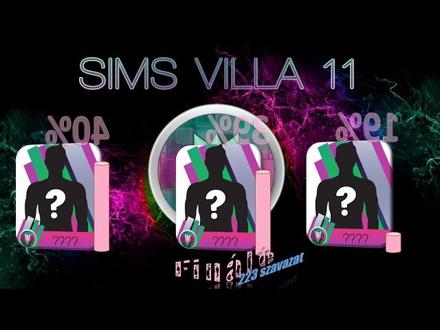 Sims Villa 11: Finálé eredmény