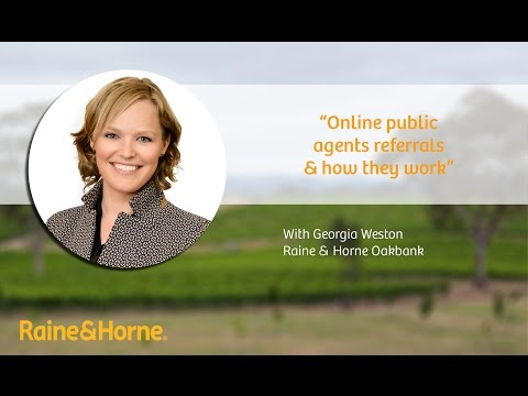 Online public agents referrals & how they work