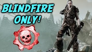 BLINDFIRE ONLY! (Gears of War 3) OSOK RAGE! + I Get A Hate Message xD