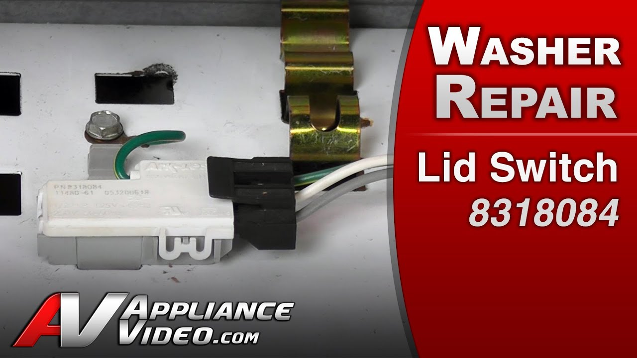 maxresdefault washer repair on lid switch repair & diagnostic whirlpool  at readyjetset.co