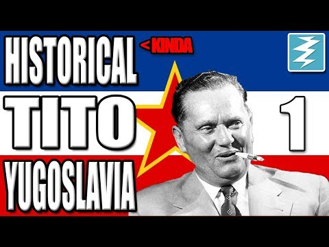 100% HISTORICAL TITO [1] Yugoslavia - Death or Dishonor - Hearts of Iron IV HOI4 Paradox Interactive