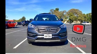 The best new car for $22,000?! 2017 Hyundai Santa Fe Sport Review