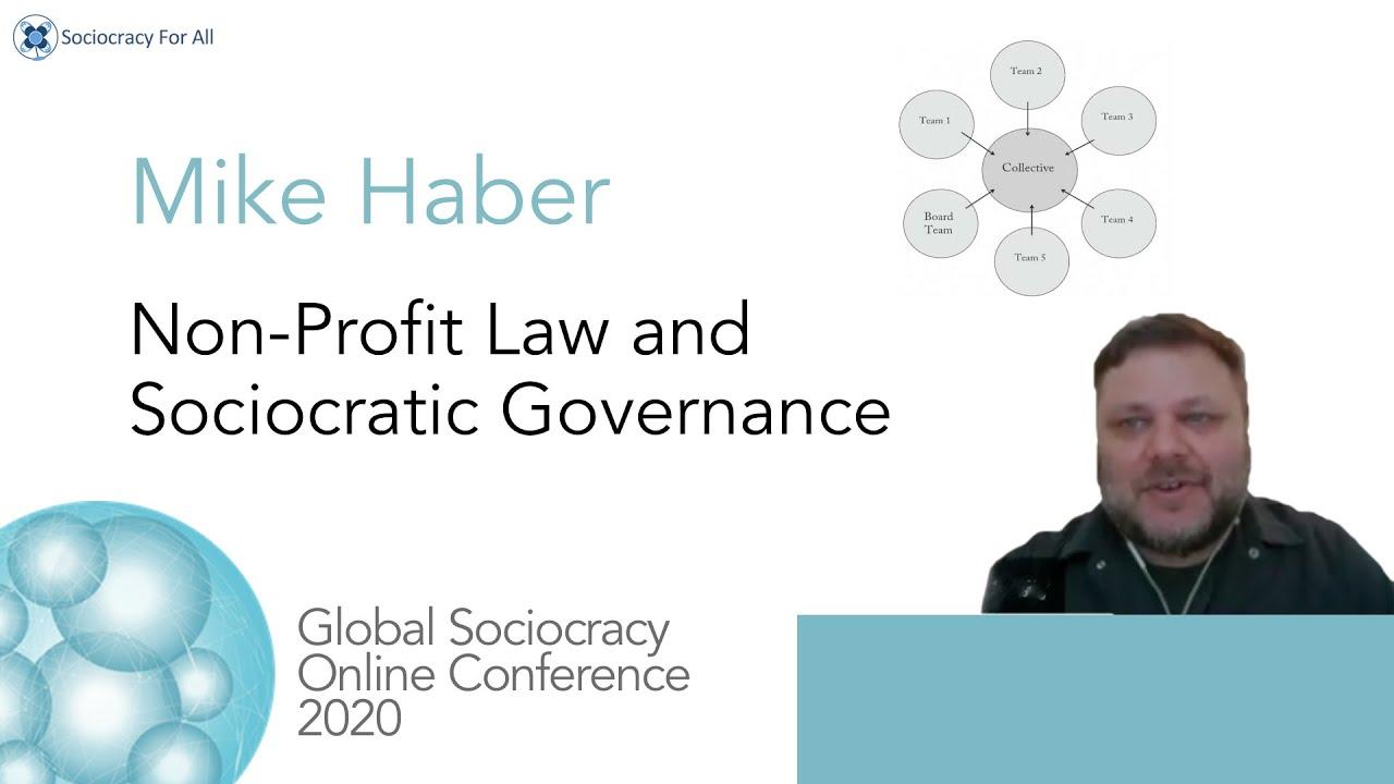 Non-Profit Law and Sociocratic Governance