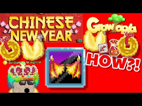 Chinese New Year Update Guide! New items!   Growtopia