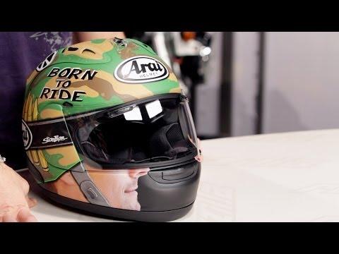 Arai Corsair V Nicky GP Camo Helmet Review at RevZilla.com