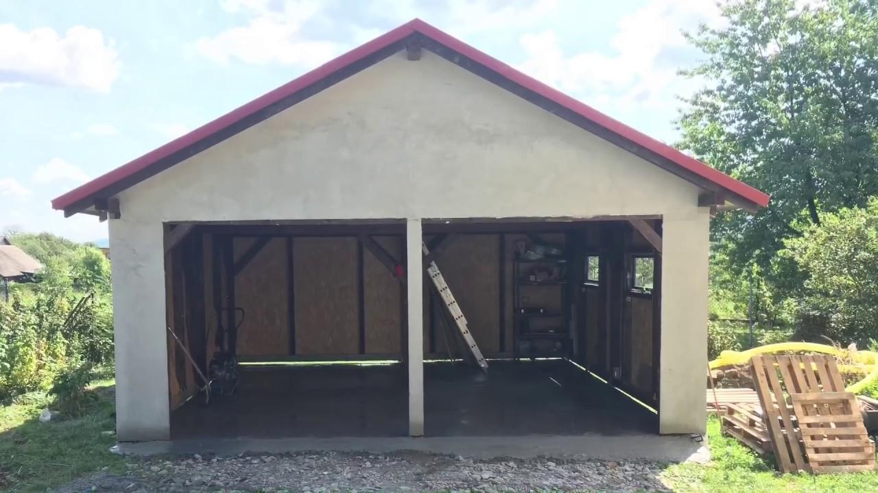 Garaż Z Drewna Youtube