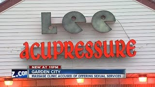 Massage parlor accused of providing sexual service