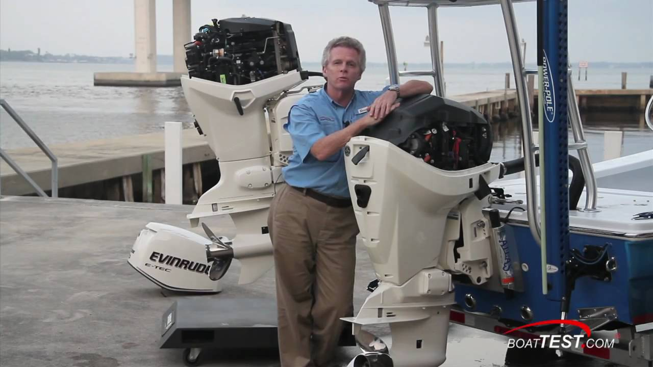 Evinrude E Tec 115 Hp Outboard Engine 2011 Performance Test By Boattest Com