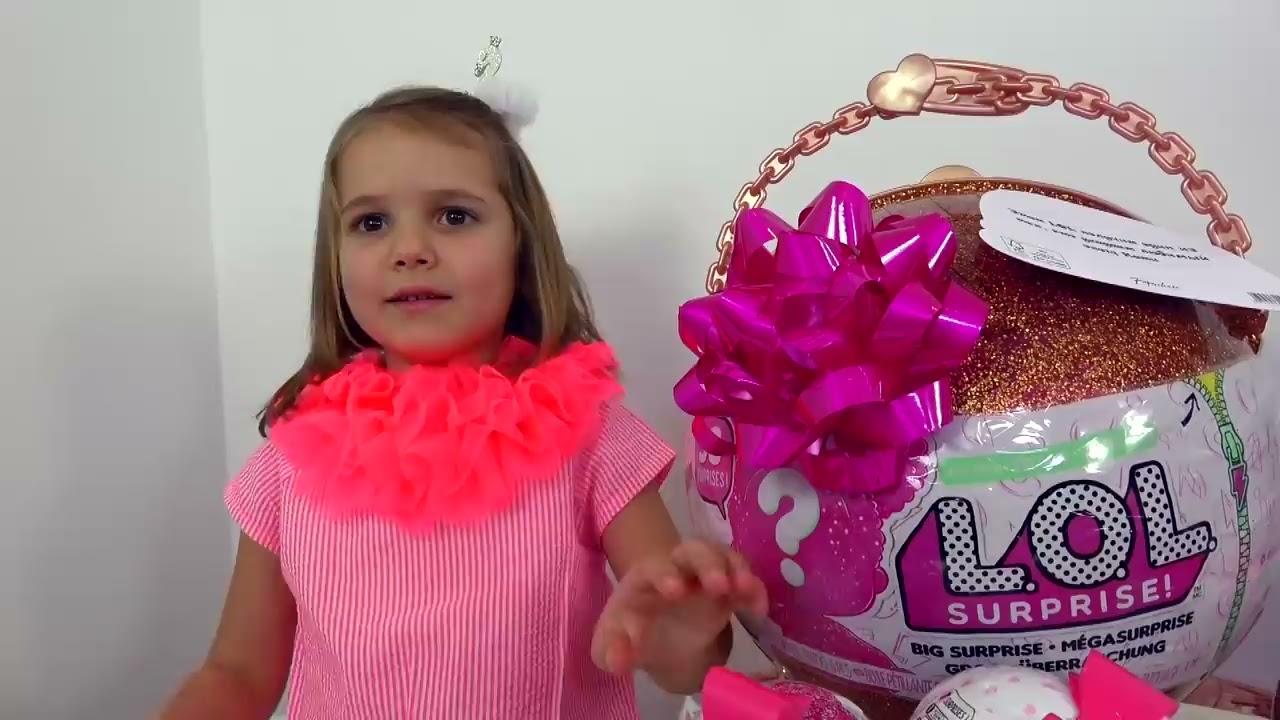 Челлендж LOL Big Surprise розыгрыш и Pancake art CHALLENGE  Шары ЛОЛ нашли своих хозяев