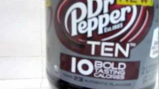 Dr Pepper 10 Review (10/11/11 Vlog 522)