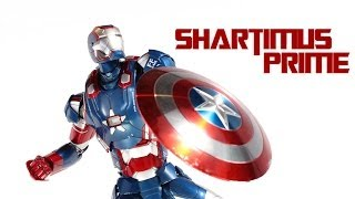 Hot Toys Iron Patriot 1:6 Scale Iron Man 3 Movie Masterpiece Die Cast Action Figure Review