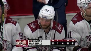 Ben Marshall first KHL goal