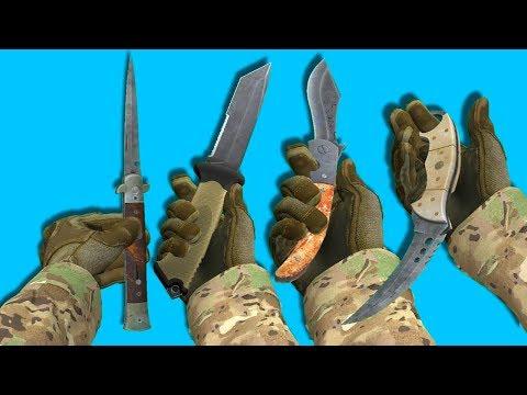 Как выдать нож через консоль в кс го