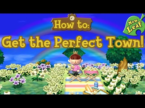 How To Get The Perfect Town Remastered Acnl