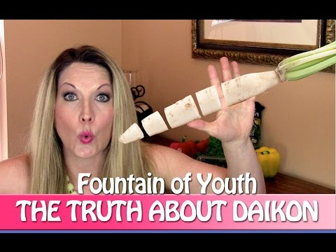 Top 3 Daikon Healthy Benefits and Anti-Aging Blueberries Part 3 Healthy Snacks