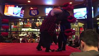 Extreme Midget Wrestling ( Match 3 of 4 ) [ March 10, 2018 ] - Tilted Kilt | Skokie, IL - MrMaD