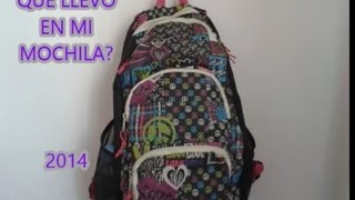 Qué hay en mi mochila? 2014 Thumbnail