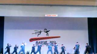 MASCUF 2012 Hip Hop Competition Entry # 8  Boyz Got High ( WMSU ) fROM Zamboanga City 3rd Place