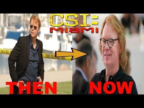 CSI: Miami (2002–2012) Cast: Then And Now ★2019★