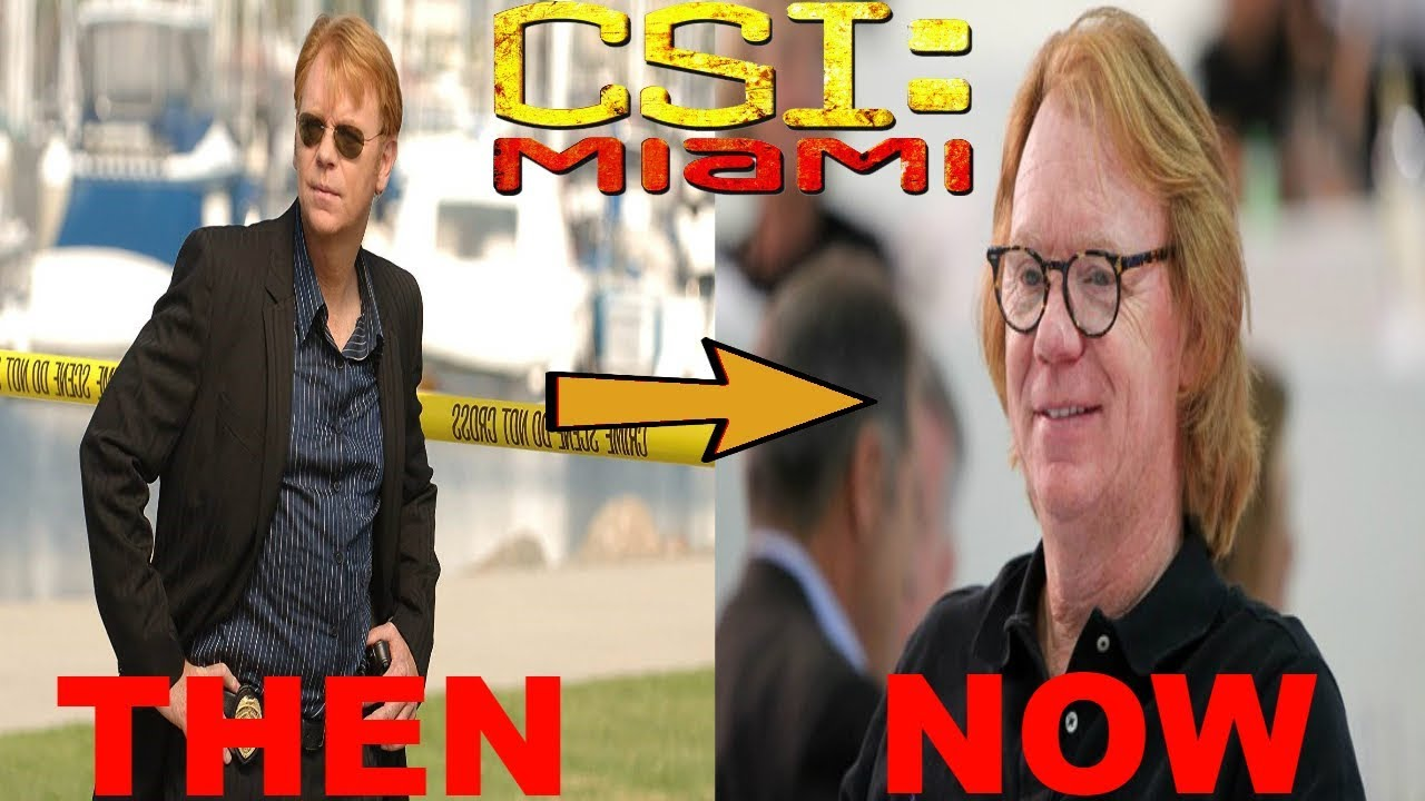 d63885ab12a7 CSI  Miami (2002–2012) Cast  Then and Now ☆2019☆ - YouTube