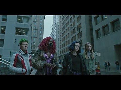 Dick se separa del grupo | Starfire, Raven, Beast Boy - DC TITANS 1X08 - Sub. Español.