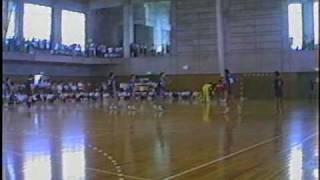 3/6ハンドボール決勝 横浜商工vs桐光学園1993年インターハイ神奈川予選