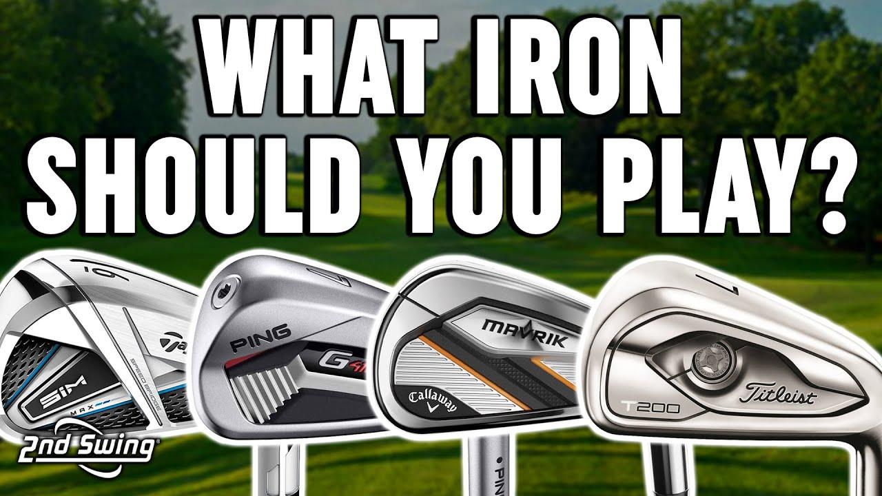 Download Golf Irons Comparison | PING G410, Titleist T200, Callaway Mavrik, TaylorMade SIM Max