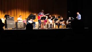 """Study in Blue"" - San Antonio College Jazz Band -Live"