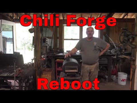 Chili forge reboot - Just like new - propane forge