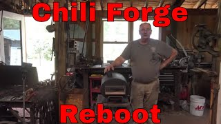 Chili forge reboot - Just like new - propane forge