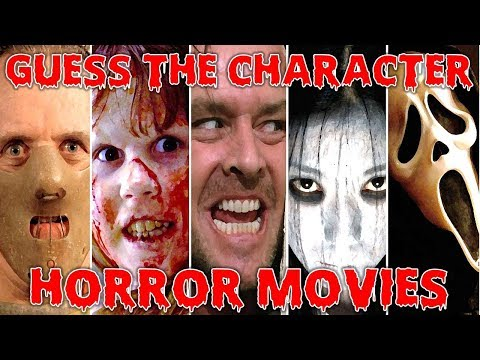 "Guess The ""HORROR/TERROR CHARACTER"" 