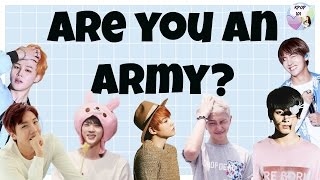 Are You an Army? (BTS Trash) l BTS Quiz