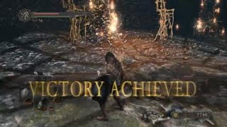 DARK SOULS™ II: Scholar of the First Sin Skeleton Lord defeated