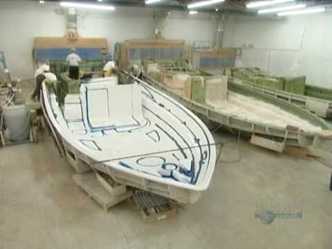 How It S Made Fibreglass Boats Youtube