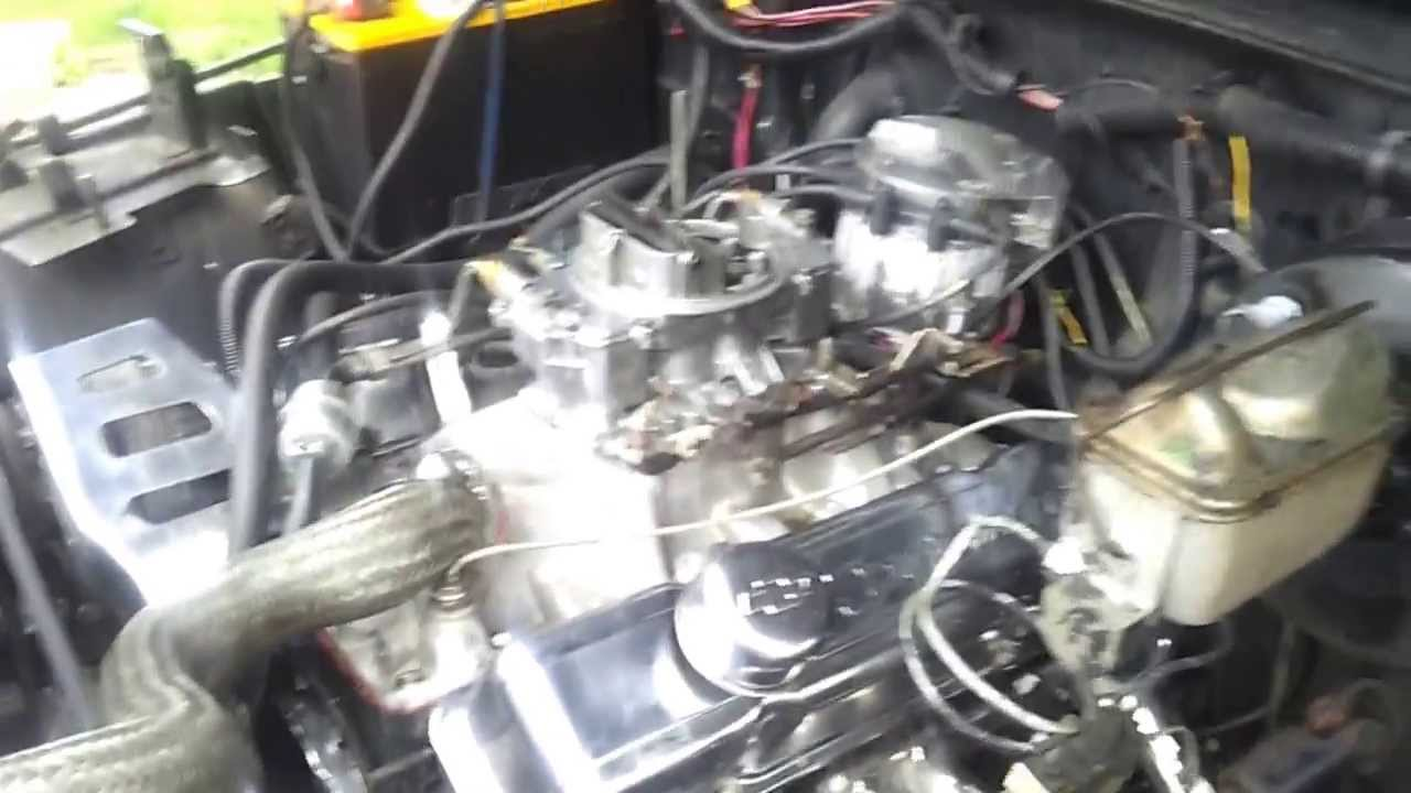 medium resolution of 1987 jeep wrangler with chevy 350 conversion