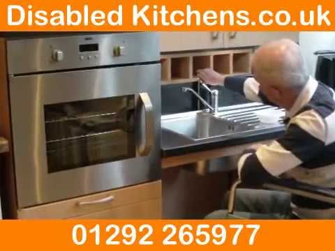 Disabled Kitchens Ayrshire   One Of The UK Leading Disabled Kitchen  Experts.   YouTube