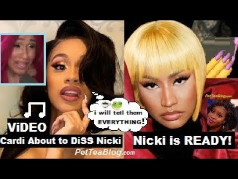 Cardi B Dropping Nicki Minaj Diss Song with RECEIPTS she Came for Kulture # Shether☕🎙