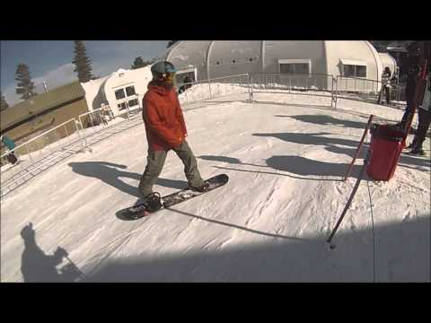 UNCUT GoPro Footage - Mammoth Mountain Ski Area - March 2016