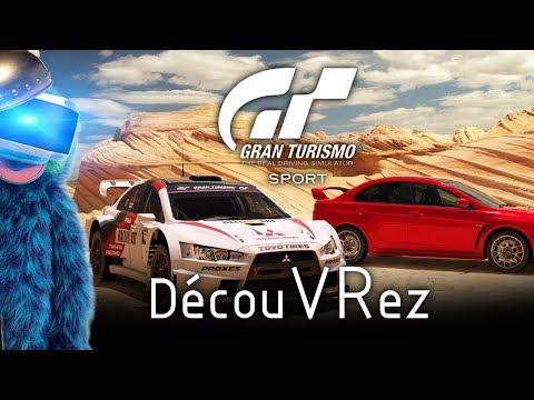 DécouVRez : Gran Turismo Sport (PSVR) GT   G29   Subpac M2   Route + Nascar + Rallye   VR Singe