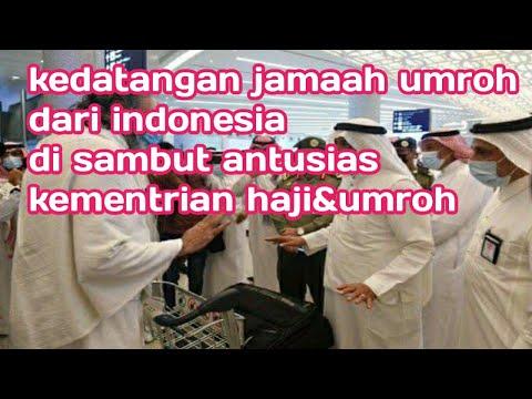 KEDATANGAN JAMAAH UMROH PERTAMA DARI INDONESIA# MEKKAH.